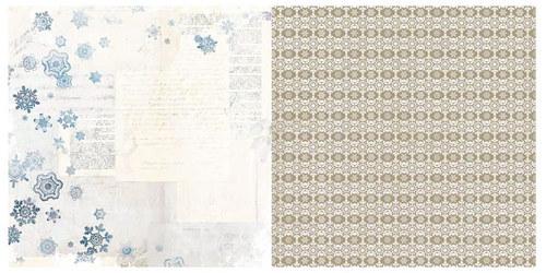 Oboustranný papír na scrapbook Woodland Winter