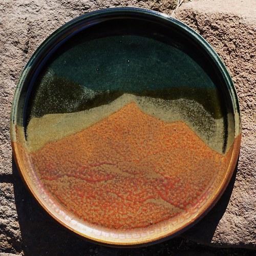 Mělký talíř 25 cm - Nebe, peklo, ráj...