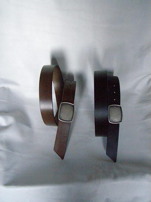 Černý pásek - plná spona