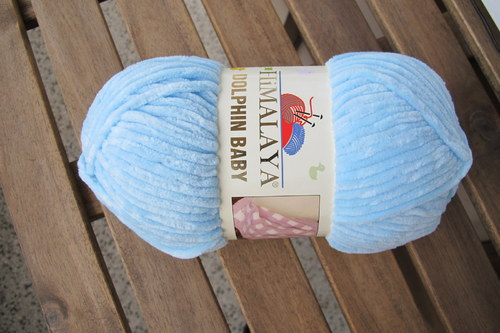 Dolphin Baby 80306 sv modrá