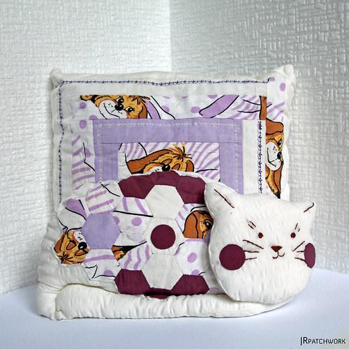 Komplet kočka 10 s polštářem
