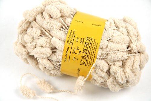 Bambulková příze - béžová - 50g