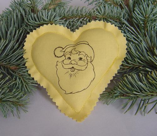 Vánoční srdíčko ZL 2