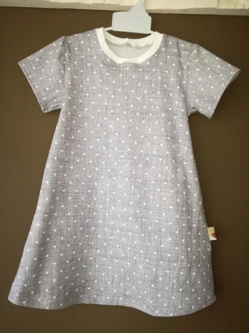 šaty-triko-tunika