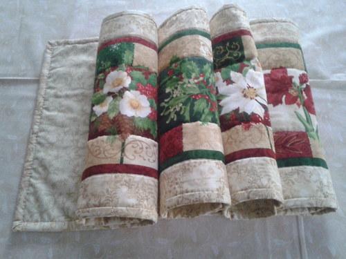 Vánoční prostírání, 30x40 cm, 4 ks