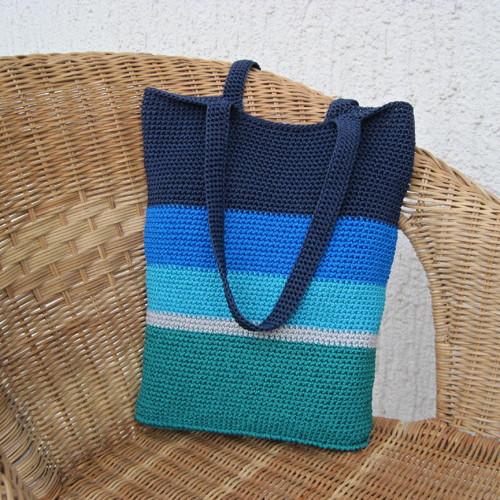 Háčkovaná taška Espera s vnitřní kapsou - Skladem