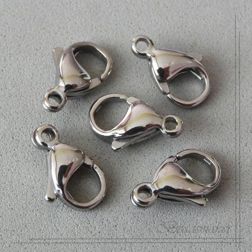 Zapínání karabinka, 2 ks, nerezová ocel