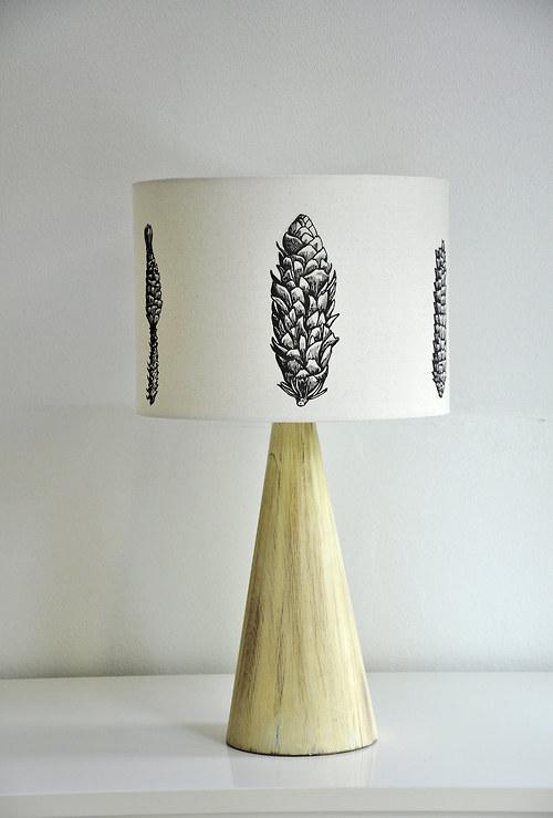 Stínítko na lampu Šišky - stolní/stropní