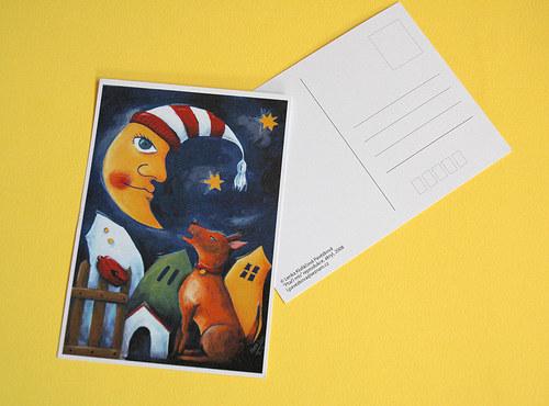 Poštovní pozdrav s Alíkem