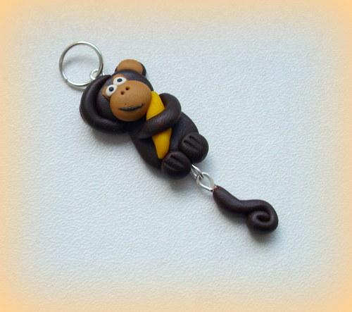Opička - přívěsek