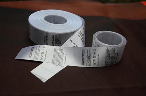 40x80mm bílá etiketa s černým tiskem  -TTP-  300ks