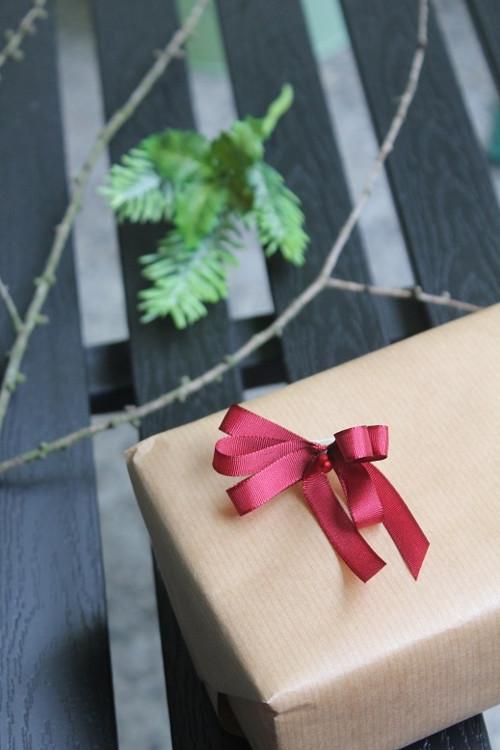 Mašle na zdobení dárků - fialová
