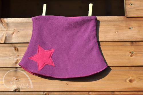 Hvězdný nákrčník fialovo-růžový