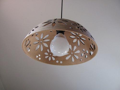 lustr keramický - KYTKY