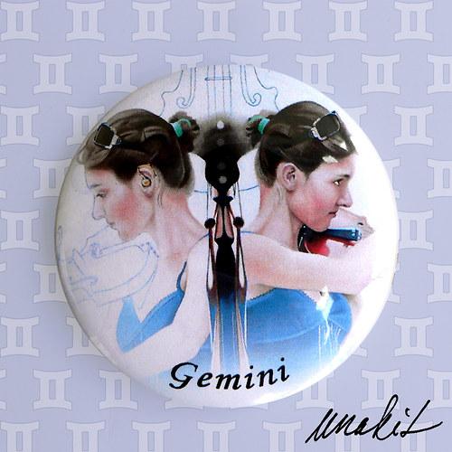Blíženci (Gemini) - zrcátko