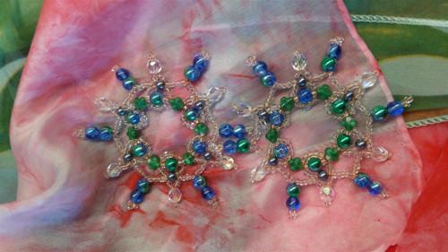 Korálkové hvězdičky - sada