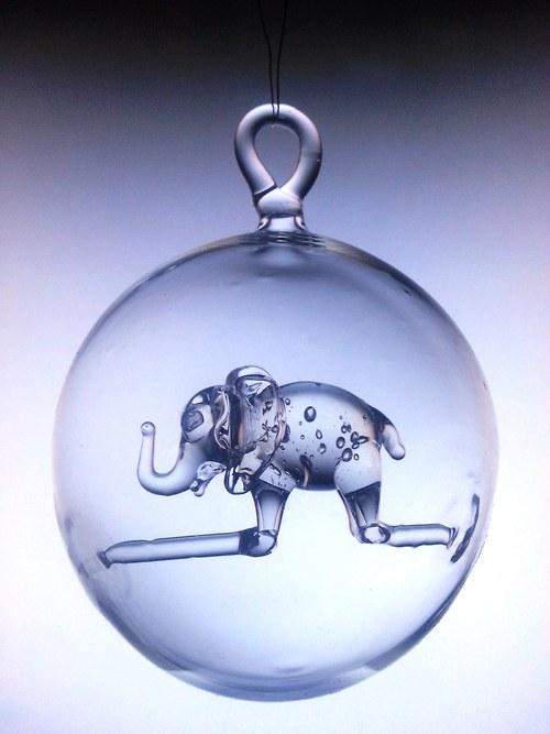 koule s motivem - slon