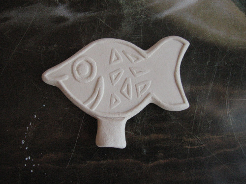 Keramická omalovánka - rybka