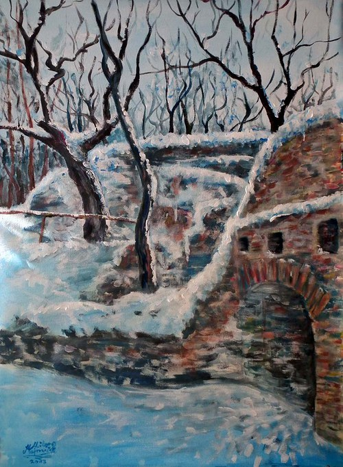 Jinšov v zimě