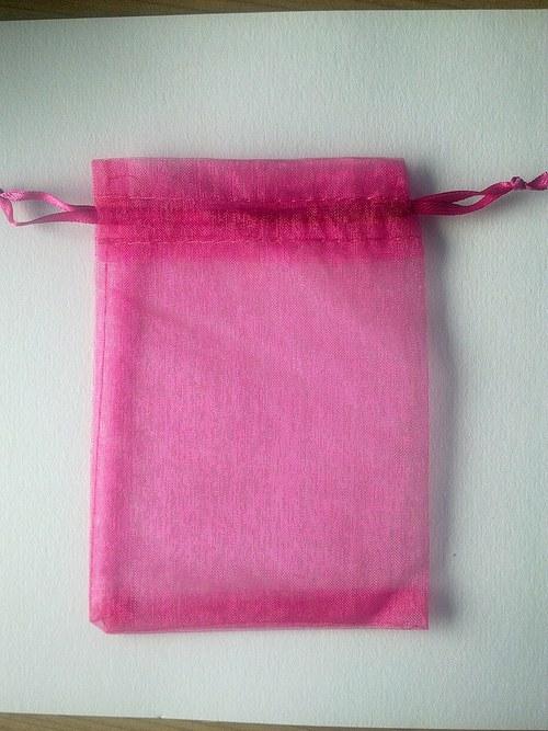 Dekorační sáček růžový