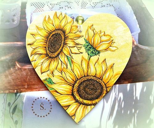 srdíčko velké - slunečnice