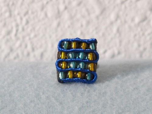 Šachovnička modrá