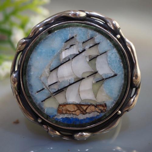 Prsten «Brigantina» - stříbro Ag 925/1000