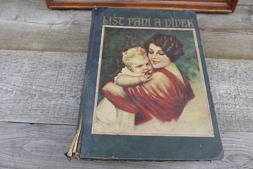 Časopis List paní a dívek - svázané, 1924-25