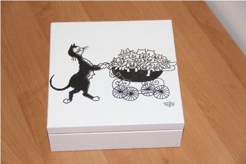 Šperkovnice - kočičí III.