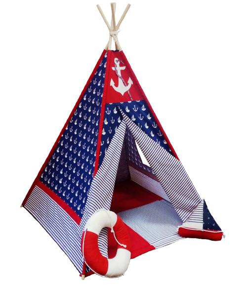 Dětské teepee Námořnický KOTVA