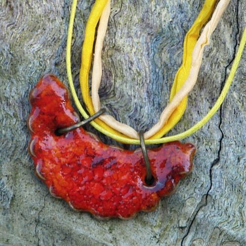 houpačka - keramický šperk