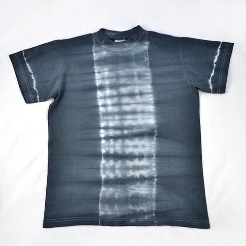 Šedé batikované triko (vel. S)