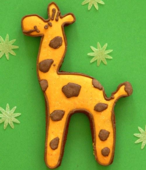 Veselá žirafa