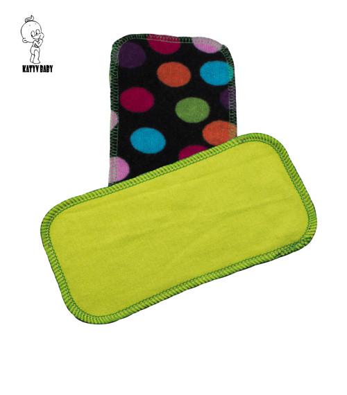 Látkový ubrousek 10x20 cm - Zelený