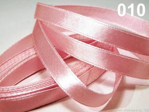 Stuha saténová š.12mm růžová