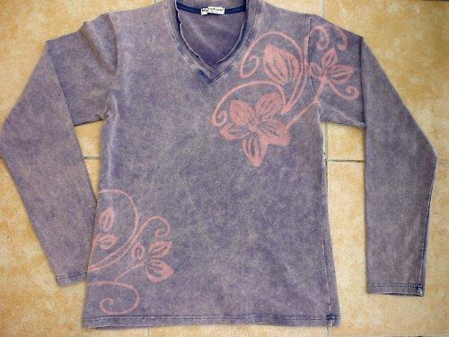 ANDROMEDA - MÓDNÍ tričko s dlouhým rukávem