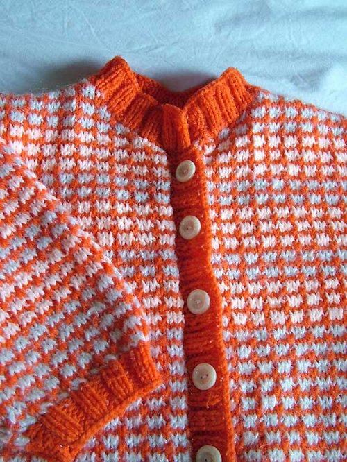 dětský svetřík pomeranč...