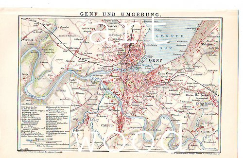 MAPA - GENF a okolí č. 481