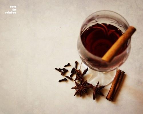 Svařené víno I - autorská fotografie, Giclée