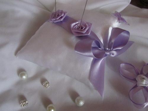 Svatební polštářek pod prstýnky 2
