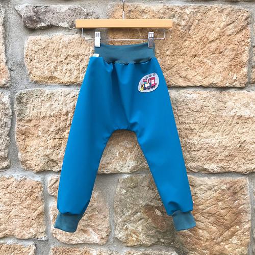 soft kalhoty ... MAŠINKOVÉ