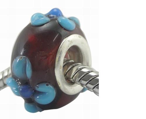 korálek - perle - se širokým průvlekem