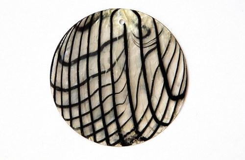 perleťové placky tenké- 40mm