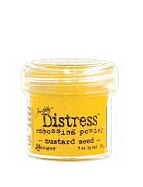 Prášek na embosing Distress Mustard Seed