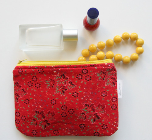 Beauty Bag - Red
