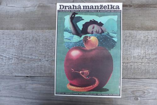 Drahá manželka... plakát Alexej Jaroš 1978