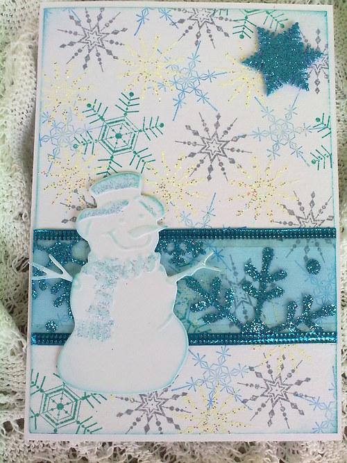 Sněhulák - vánoční přání