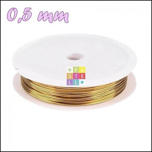 (0751) Drôtik 0,50 mm - návin 10 metrov