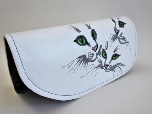 Klopová peněženka Kočky