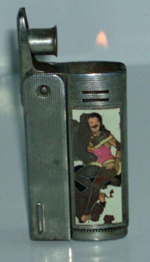 IMCO 6800 - Zapalovač RAKUŠÁK - 2x brunetka v MINI